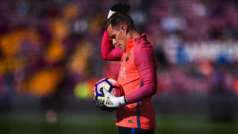 La renovación de Ter Stegen con el FC Barcelona, al caer