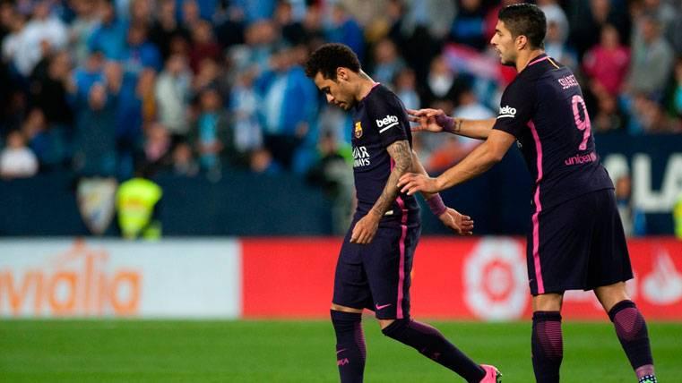 La expulsión de Neymar se lo puso más difícil al Barça...