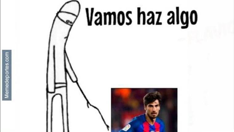 """Este es el mejor """"meme"""" del Málaga CF-FC Barcelona"""