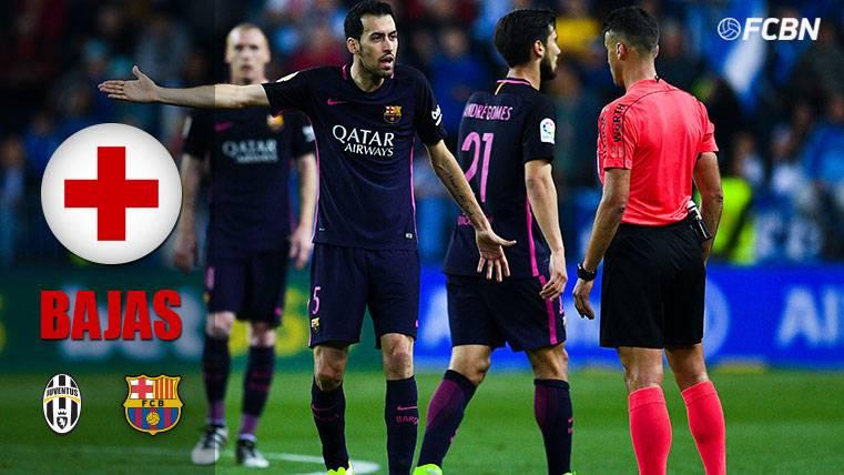 El FC Barcelona, con más ausencias que la Juventus