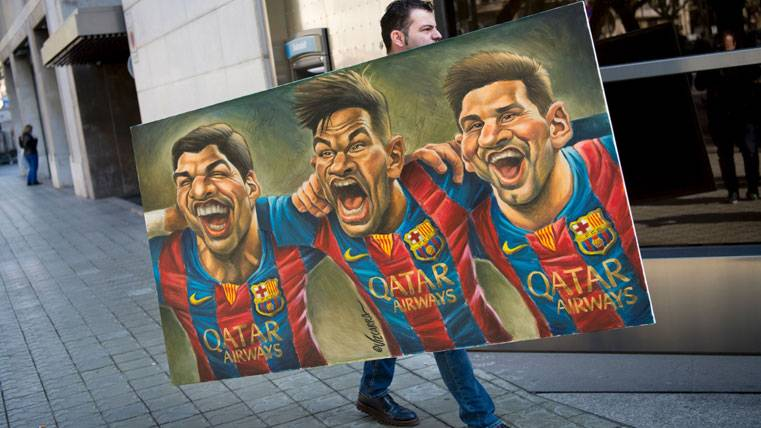 """La """"MSN"""", bálsamo para quebrar la muralla de la Juventus"""