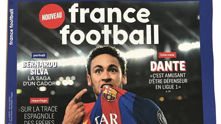 """France Football: """"Pues sí, Neymar apunta al Balón de Oro"""""""