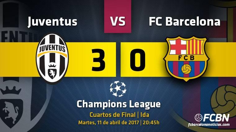 Sólo otro milagro puede salvar al Barça ante la Juventus