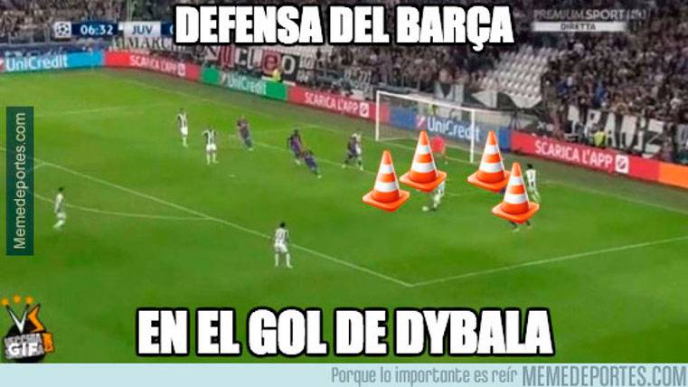 This Is The Best Meme Of The Juventus Fc Barcelona