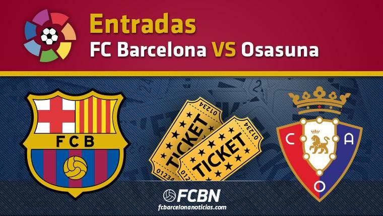 Entradas FC Barcelona vs Osasuna
