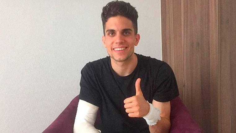 """Marc Bartra habla tras el ataque: """"Estoy mucho mejor"""""""