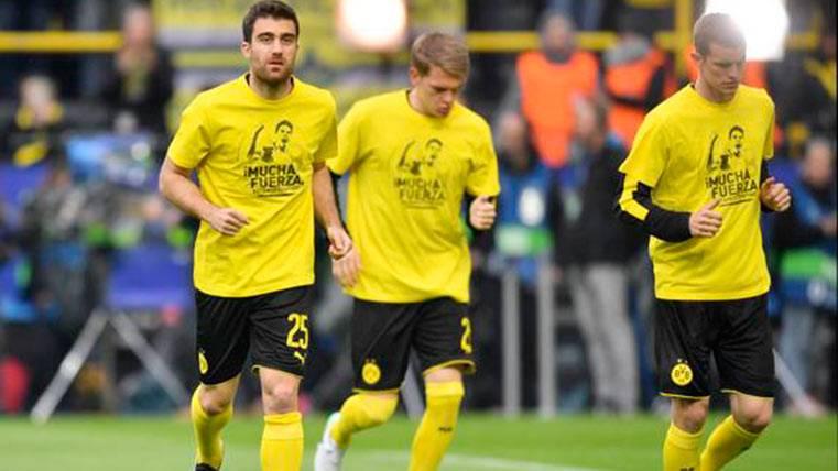 Precioso gesto del Borussia Dortmund (y Bürki) con Bartra
