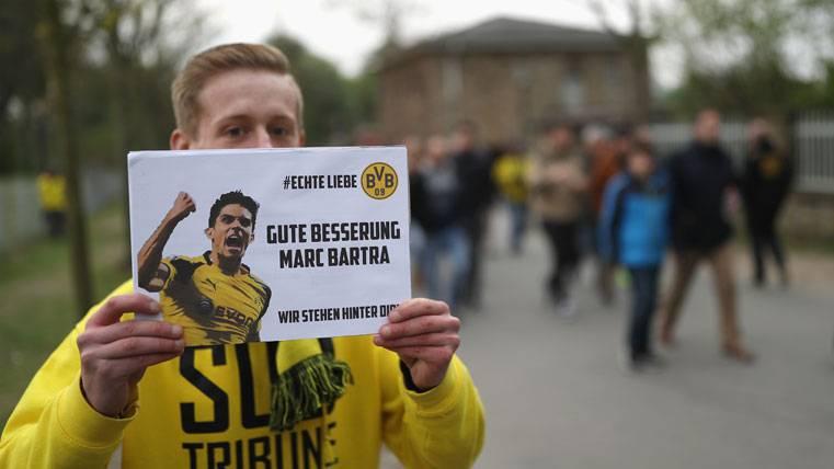 El tiempo de baja de Bartra tras el ataque-bomba al Dortmund