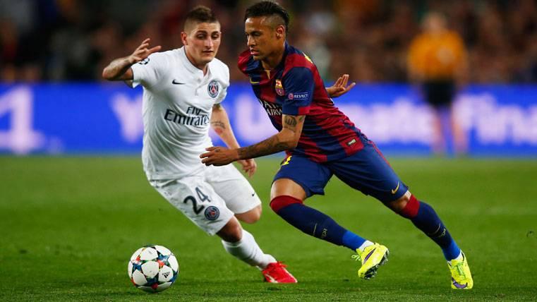 Verratti sabe muy bien a quién ficharía del Barça para el PSG