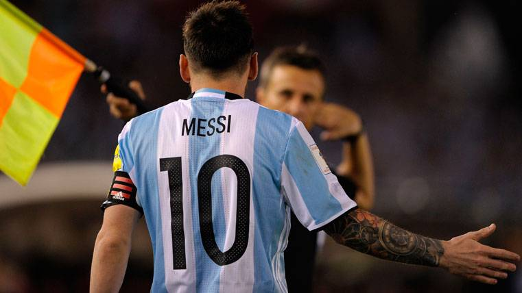 Ya se sabe cuándo declarará Messi para reducir su sanción