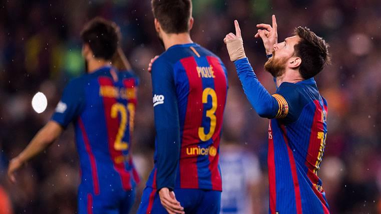 Messi vuelve a liderar la Bota de Oro gracias a Alcácer y Suárez