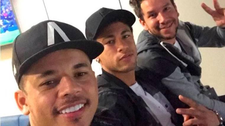 Así vio Neymar Júnior el Barça-Real Sociedad: ¡Con los Toiss!