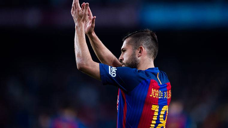 Jordi Alba y Sergi Roberto estarán en el Clásico