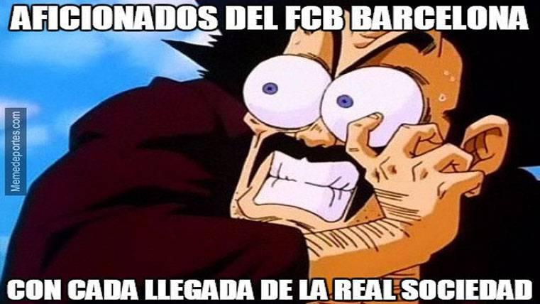 """El """"meme"""" que reflejó la segunda parte del Barça-Real Sociedad"""