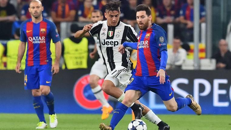 """Dybala, prudente: """"Hay una gran distancia entre Messi y yo"""""""