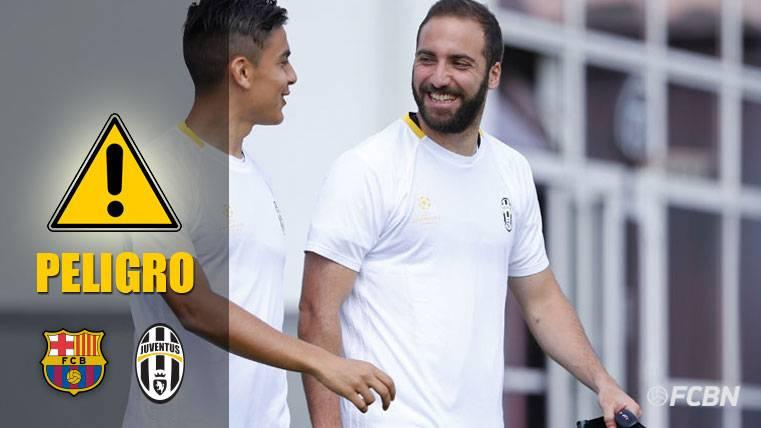 PELIGRO: Higuaín y Dybala acecharán la portería del Barça