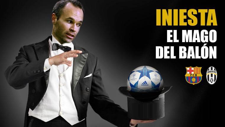 Tócala otra vez, Andrés: El Barça necesitará la magia de Iniesta