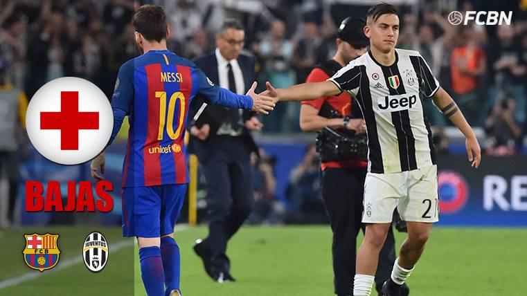 Barça y Juventus consiguen recuperar fuerzas antes del duelo