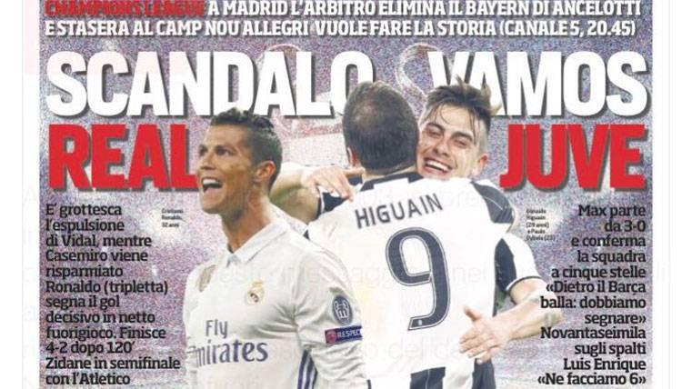 La prensa internacional, indignada por el Madrid-Bayern