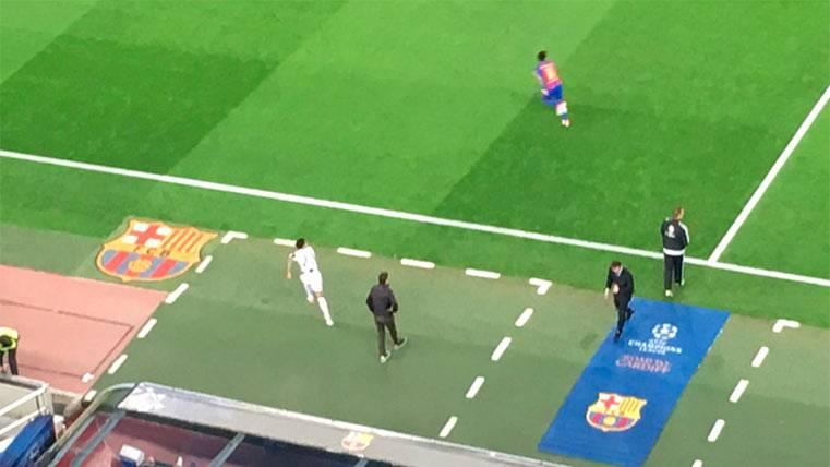 ¡El Barça-Juventus empezó sin Dani Alves en el campo!