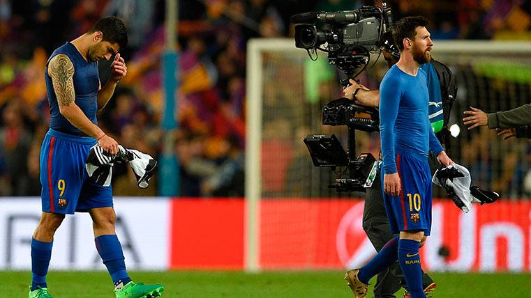 Al Barça comienzan a atragantársele los cuartos