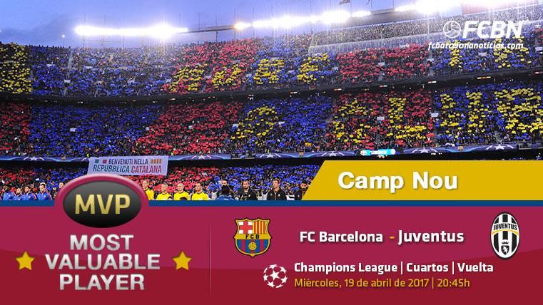 El Camp Nou, el MVP del FC Barcelona frente a la Juventus