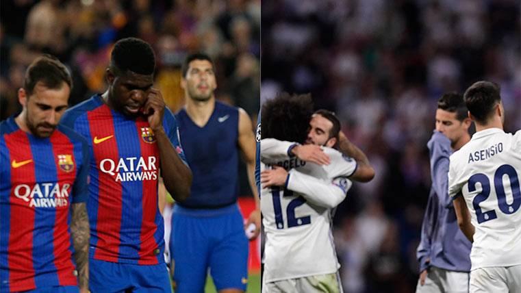 Las claves de por qué el Barça se quedó fuera de la Champions y el Madrid no