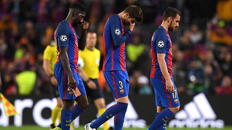 Dos jugadores del FC Barcelona, en el XI de la Champions