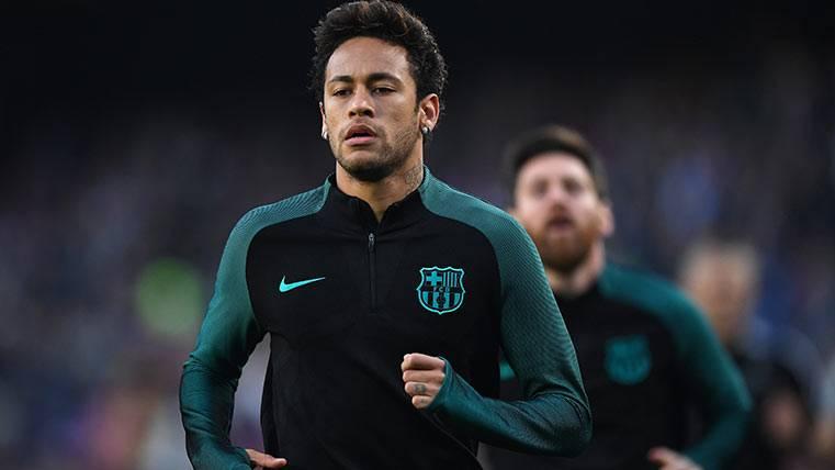 Neymar Júnior espera que el TAD le de la cautelar al Barça