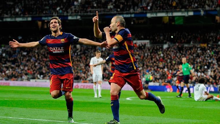 Iniesta, el martillo que golpea en los Clásicos del Bernabéu