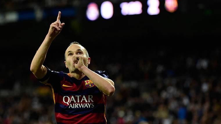 Los culés esperan otra ovación para Iniesta del Bernabéu