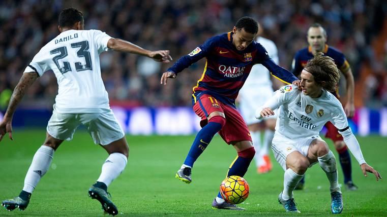 El Madrid, a salvo de un Neymar de pesadilla en el Bernabéu