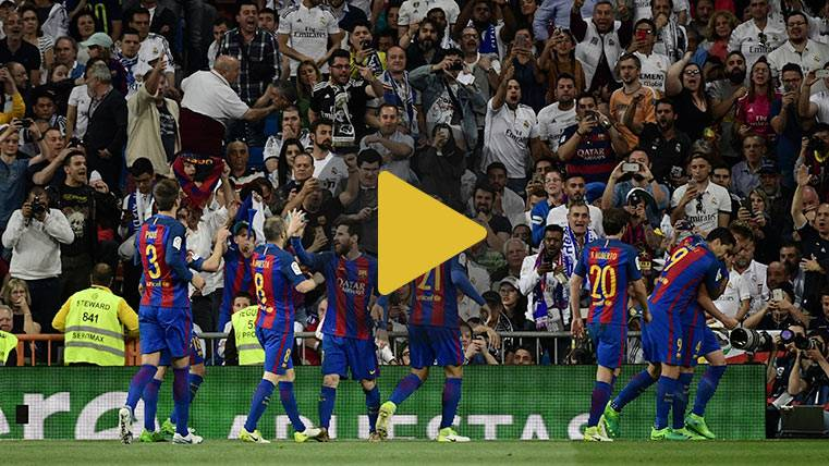 Vídeo resumen: Real Madrid 2 FC Barcelona 3 (Liga J33)