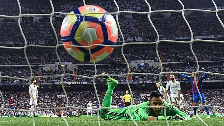 ¡El Madrid nunca había perdido en el añadido en el Bernabéu!