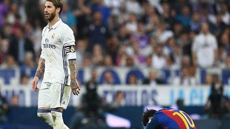 El árbitro pudo salvar a Ramos de una sanción como la de Neymar
