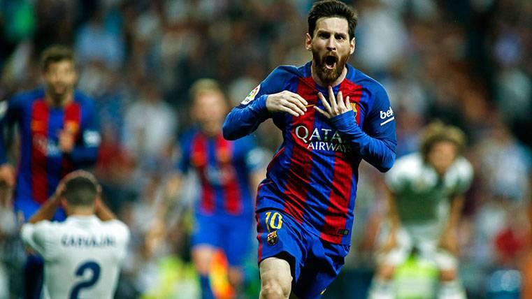 """Messi: """"Fuimos al Bernabéu a ganar para seguir luchando"""""""