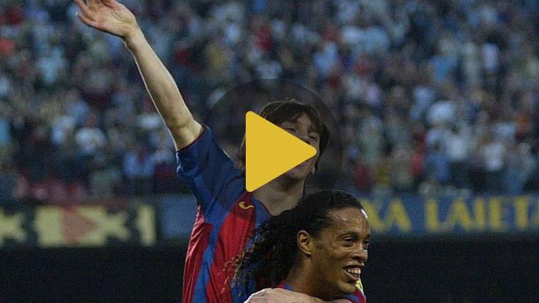 De Ronaldinho a Messi: Así empezó una historia irrepetible