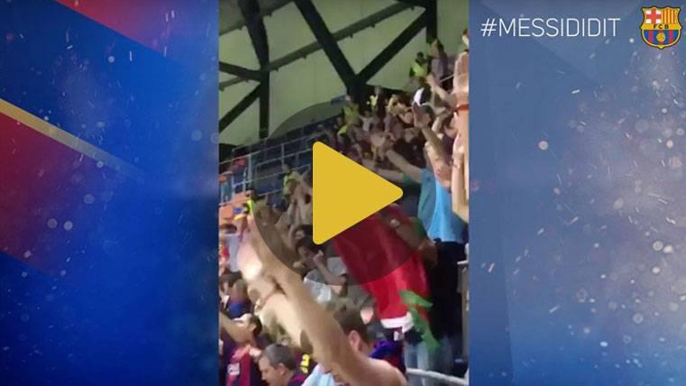 LOCURA: Así se celebró alrededor del mundo el 2-3 de Messi