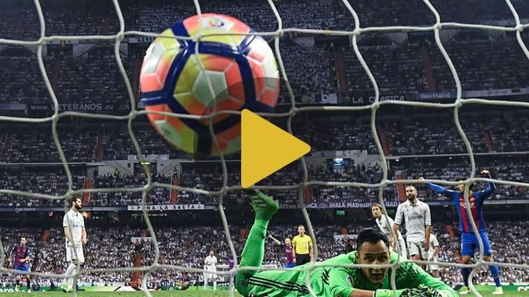 Así narraron las radios el 2-3 de Leo Messi en el Clásico