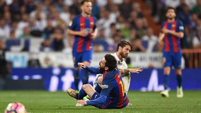 Sergio Ramos, un partido de sanción por su entrada a Messi