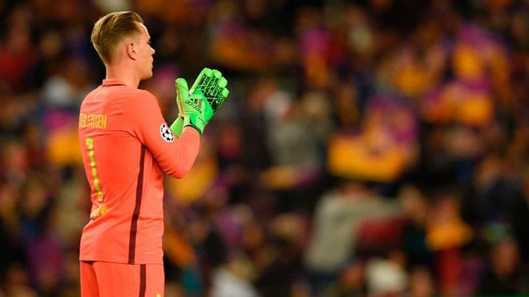Ter Stegen, renovado con el Barça a falta del anuncio oficial