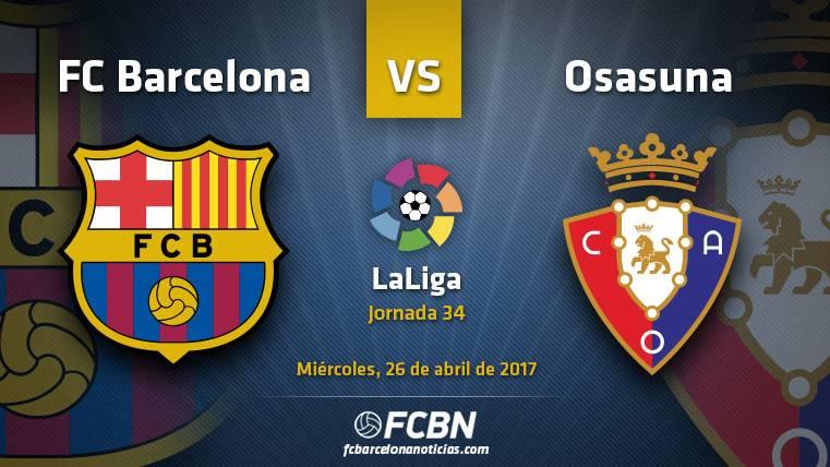 Barça-Osasuna: A ganar para mantener el liderato en Liga