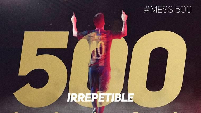 Máximos asistentes, equipos goleados... Los 500 de Messi
