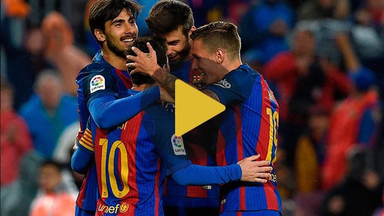 Vídeo resumen: Barcelona 7 Osasuna 1 (LaLiga J34)