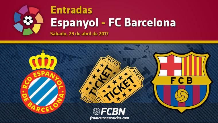 Entradas Espanyol vs FC Barcelona