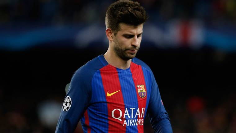 Piqué dio el susto pero podrá jugar el Espanyol-Barcelona