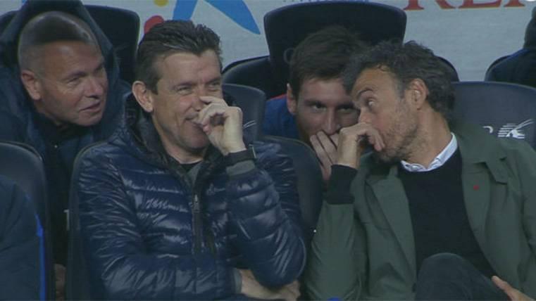 La anécdota de Luis Enrique y Messi tras el gol de Mascherano