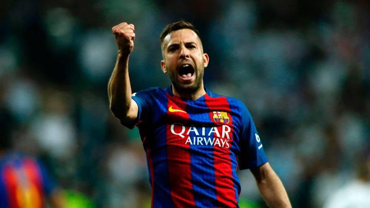 """El Barcelona incluye a Jordi Alba en el grupo de """"intocables"""""""
