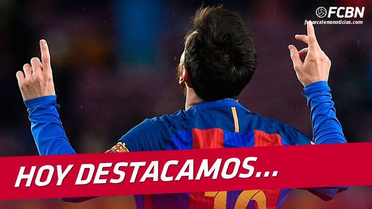"""EL DATO: ¡Messi casi iguala todos los goles de la """"BBC""""!"""