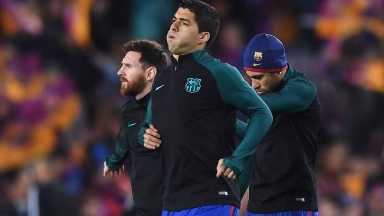 """Ya hay alineación del Barça contra el Espanyol en el """"derbi"""""""